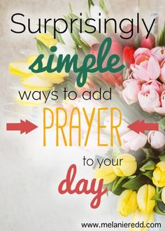 Don't feel like much of a prayer warrior? Most of us do not! However, we can improve our prayer lives. Here is an article offering simple ideas for enhancing daily prayer.