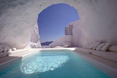 The 10 Most Beautiful Hotels in the World | HUH. Katikies hotel in santorini