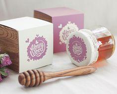 Packaging Creativo para Miel: Honey Wood || Diseñado por: Fox in Sox, Rusia