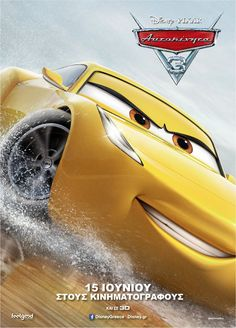 Cars 3 Movie Poster 14