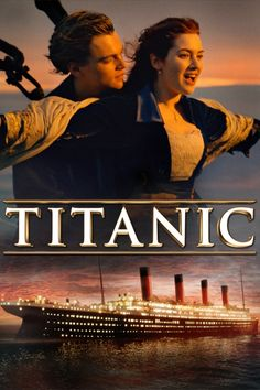 Titanic Movie Poster - Leonardo DiCaprio, Kate Winslet, Billy Zane #Titanic…