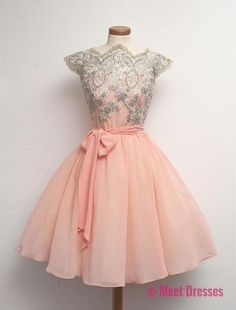 Blush Pink Homecoming Dress,Homecoming Dresses,Lace Homecoming Gowns,Short Prom Gown,Blush Pink Sweet 16 Dress,Homecoming Dress,Cocktail Dress,Evening Gowns PD20183432