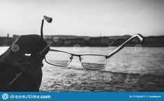 Photo about Quay looking through glasses, street photo, black and white shot. Image of closeup, background, food - 171923677