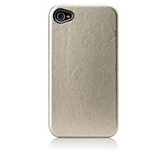 Barely there iPhone 4 reptile skin, metallic gold case $40