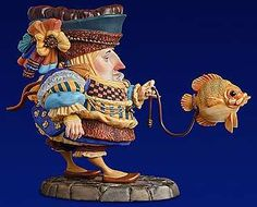 Sculpture -- The Fish Walker - James Christensen - World-Wide-Art.com