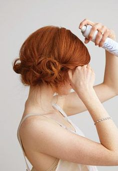 Hair - Red | Updo