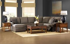 Reclining Sectional with Left-Side Chaise