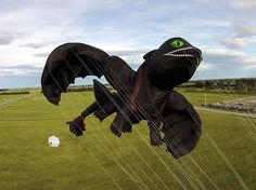 When Peter Lynn Kite Factory was asked to produce a giant 3D dragon-shaped kite in 2014, nobody could have anticipated how epic it turned out to be. In just 2 months, the New Zealand-based design team crafted an 18-metre flying model of Toothless, one of the main characters from DreamWorks' How to Train Your Dragon series.