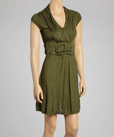 Look what I found on #zulily! Green Cumberland Dress #zulilyfinds
