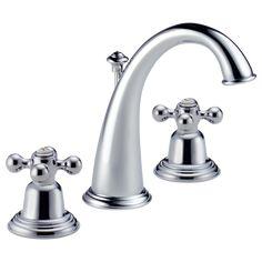 Two Handle Widespread Lavatory Faucet - Less Handles : 6520LF-PCLHP--HK33H-PC--HK33C-PC : Providence™ : Bath : Brizo