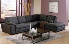 Palliser Miami Leather Sectional | Furniture Market, Austin, Texas
