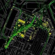 Passenger Flow study of existing passenger activity, Victoria Station, London. Urban Analysis, Site Analysis, Architecture Board, Landscape Architecture, Architecture Drawings, Informations Design, Vertical City, Presentation Layout, Concept Diagram