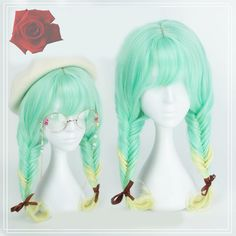 """Color:green. Size: Length:60cm/23.40"""".   Tips:+ *Please+double+check+above+size+and+consider+your+measurements+before+ordering,+thank+you+^_^  more+fashion+kawaii+products,please+visit:+ http://fashionkawaii.storenvy.com"""