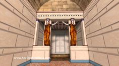 A digital 3d reconstruction of the newly discovered tomb in Kasta hill of ancient Amphipolis, in Macedonia, Greece. For more info: https://en.wikipedia.org/w...