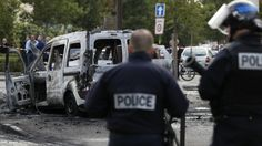 French police in life-threatening condition after Molotov cocktail attack - France 24