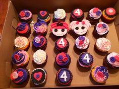 Laloopsy cupcakes