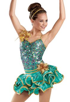 This would be such a cute dance costume.