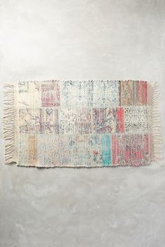 Anthropologie Tapestry Bath Mat #anthroregistry