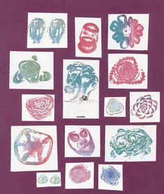Bruno Munari, sea éste gráfico-IT-Roses-en-el-ensalada-1983 tampón