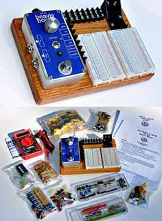 Music Thing: Beavis Board: super simple all-in-one DIY guitar pedals kit
