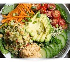 Wat is een gezonde lunch? Ontdek hier lekkere en gevarieerde broodvervangers waarmee je gezond kunt afvallen, ook onderweg of in de bedrijfskantine (tips).