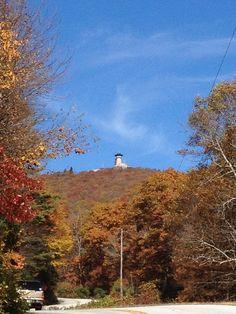"""Top 5 Autumn Activities Around #Atlanta"" via Green Global Travel. Brasstown Bald."