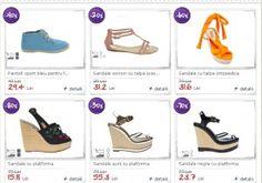 Pantofi si sandale reduse cu 80 % la MiniPrix