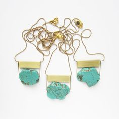 I personally believe one can never have too much turquoise... #MrsFrench #BlissBlog