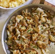 gotta try this one 			 		 	 	 		              			 			 			 		 	                                    Cauliflower with Brown Butter, Pears, ...