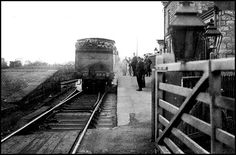 Slingsby Station around 1910 looking up the line to the east