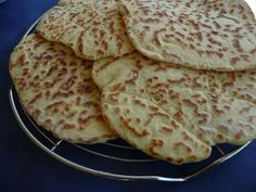 Naanbrot - Glutenfrei Backen und Kochen bei Zöliakie. Glutenfreie Rezepte, laktosefreie Rezepte, glutenfreies Brot