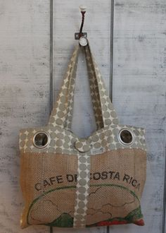 Earth to Alice bag 'Everyday Emily' OH how I WANT THIS!! Made from reclaimed coffee bags