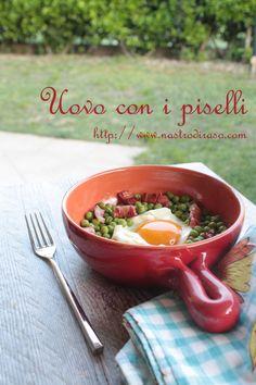 Tradizioni in cucina... l'uovo con i piselli
