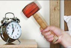 Do you feel like taking a hammer and smashing your clock every time you hear the alarm in the morning? You are not alone! Find out how to wake up in the morning more easily