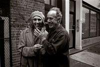 June Leaf und Robert Frank, New York by Gundula Schulze Eldowy