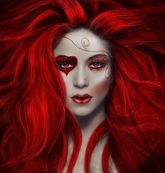 Evil Queen of Hearts Makeup | Comment se maquiller comme une reine de coeur ?