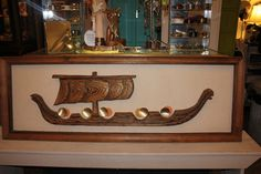 Witco Wooden Ship Wood Art