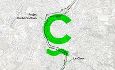 Montluçon - Riverbanks project branding on Behance