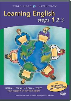 Free download Learning English steps 1-2-3