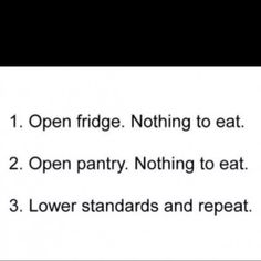 totally what i do.. til i decide not hungry