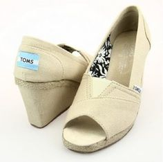 Beige Womens Wedges