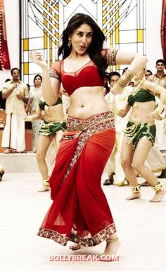 "Kareena Kapoor as ""Chammak Challo""...her moves were rocking."