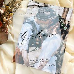 【ウェルカムボード】トレーシングペーパー(A3)/31design Space Wedding, Wedding Book, Wedding Cards, Diy Wedding, Wedding Illustration, Wedding Guest Book Alternatives, Wedding Portraits, Personalized Wedding, Spring Wedding