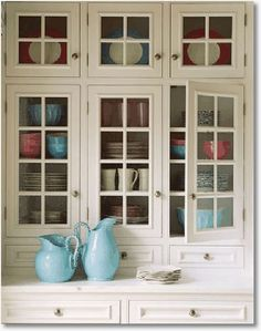 Kitchen Cabinets With Glass love these cabinets- seeded glass with diamond pattern in antique
