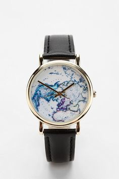 I have a similar one, but it's brown with a different hemisphere.... I need this one because who doesn't need two map watches.