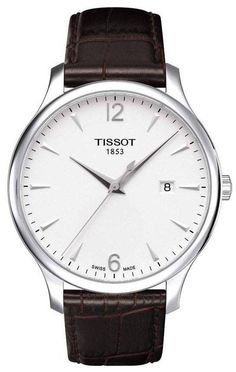 Tissot Watch Tradition #360-image-yes #bezel-fixed #bracelet-strap-alligator #brand-tissot #case-depth-7-47mm #case-material-steel #case-width-42mm #date-yes #delivery-timescale-1-2-weeks #dial-colour-silver #gender-mens #luxury #movement-quartz-battery #official-stockist-for-tissot-watches #packaging-tissot-watch-packaging #subcat-t-classic #supplier-model-no-t0636101603700 #warranty-tissot-official-2-year-guarantee #water-resistant-30m