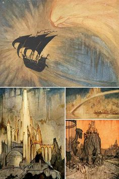The Ship That Sailed to Mars, written and illustrated by William Timlin