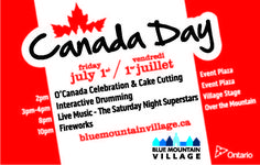 Canada Day at Blue Mountain Village Canada Celebrations, Mountain Village, Canada Day, Blue Mountain, Celebration Cakes, Fireworks, Friday, Shower Cakes, Holiday Cakes