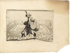 CALLOT (Jacques). Capricci di varie figure. Florence, (1617). In-16,