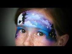 Výsledek obrázku pro čarodějnice malování na obličej